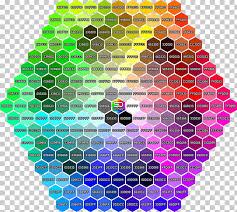 Web Colors Color Chart Color Term Colored Hexagon Png