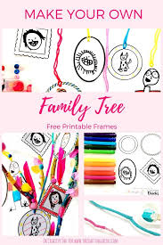 Making A Family Tree For Free Diy Crafts Make Your Own Family Tree With These Adorable