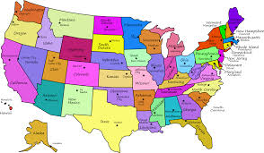 us map with capitals  states and capitals us state capitals list