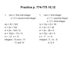 equation problems resume solving word involving quadratic equations