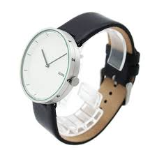 alessi al outtime leather men's designer watch by andrea
