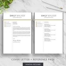 Reference Pages For Resumes Modern Resume Template