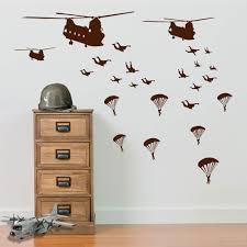 <b>Military</b> Parachute <b>Soldiers</b> Planes <b>Helicopters Army</b> Men <b>Wall</b> ...
