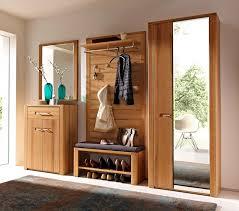 wooden entryway storage bench with coat rack designs