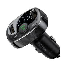 <b>Baseus S</b> - <b>09A</b> Bluetooth 4.2 Car Charger FM Transmitter MP3 ...