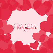 love hearts background for valentine s day free vector art stock graphics images