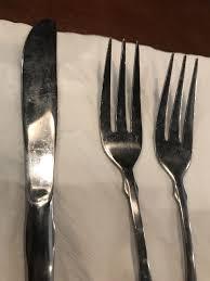 photo of olive garden italian restaurant downey ca united states dirty silverware