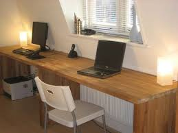 long office table. big oak desk from kitchen worktops long office table