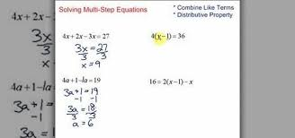how to simplify solve multi step equations in algebra math wonderhowto
