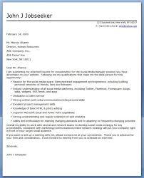 New Media Specialist Sample Resume Best Social Media Manager Cover Letter Sample Creative Resume Design