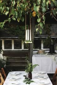 Diy Outdoor Kerze Kronleuchter Tutorial Dekoration Ideen