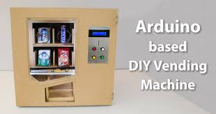 Popular Vending Machines Fascinating DIY Vending Machine Arduino Based Mechatronics Project