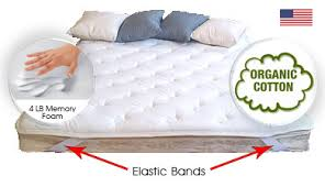 rv mattress sizes. The Brookside Memory Foam Topper Used In A Sofa Bed Application: Rv Mattress Sizes