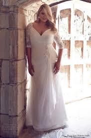 2016 Fashion Plus Size Sheath Wedding Dresses For Greek Goddess