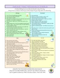 Yearly House Maintenance Seasonal Home Maintenance Checklist Magdalene Project Org