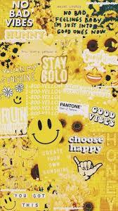 yellow aesthetic background for desktop