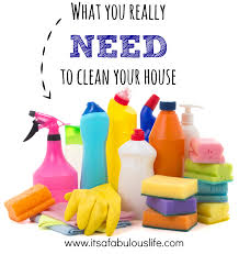 What Cleaning Supplies You Need To Stock A Cleaning Caddy Its A