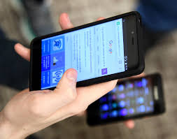 file a college student uses a cellphone on sept 14 2016 at