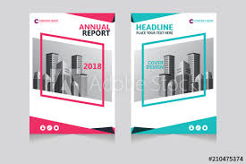 Annual Report Pamphlet Presentation Brochure Front Page