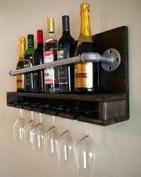 wine rack and glass holder best industrial wine racks ideas on industrial wall wine rack with wine rack and glass holder wall