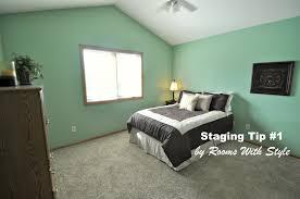 bedroom staging. Bedroom After Home Staging A