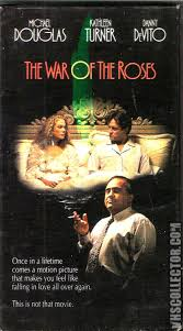 the war of the roses vhs cover