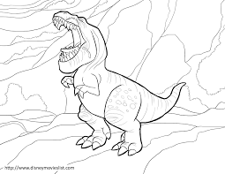 Good Dinosaur Coloring Pages Get Coloring Pages