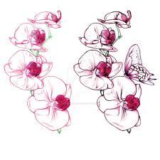 изысканное тату орхидея 70 фото идей эскизы значение