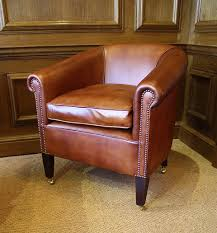 the amsterdam chair in leather
