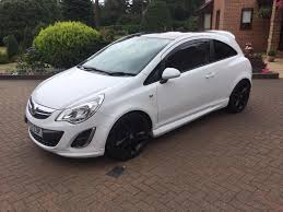 vauxhall corsa 1 2i 16v limited edition white 3 door hatchback