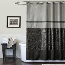 lush decor croc black shower curtain bed bath shower curtains accessories