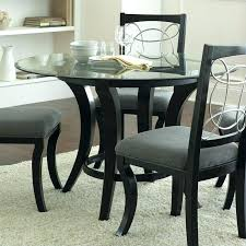 48 inch round dining table round glass dining table silver company round dining table in black