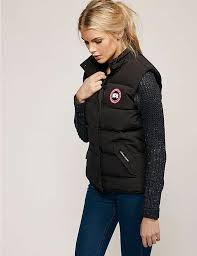 black Canada Goose Freestyle Vest