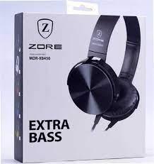 Zore MDR-XB450 Mp3 Stereo Kulaklık - MP3 Kulak Üstü Kafa Bantlı Headset