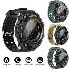 <b>Men's</b> Wristwatch IP67 Waterproof EX16S <b>Smart Sport Watch</b> ...