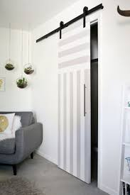 Small Interior Doors Sliding Door Solution For Small Spaces A Beautiful Mess