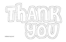 Thank You Coloring Pages Printable Easy Mandala Page Adult X Pi