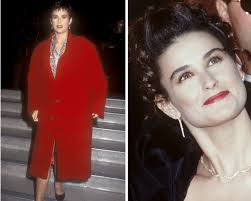 are your hairstyle and makeup aging you demi moore in 1993