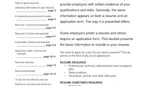 Examples Of Effective Resumes Recent Posts Examples Of Highly