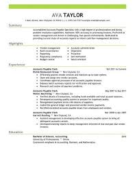 Resume Specialist Adorable Best Accounts Payable Specialist Resume Example LiveCareer