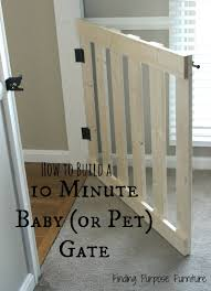 since our darling babies are now 6 and 4 years old i thought we were long past the need for baby gates it was a glorious feeling to move so freely from