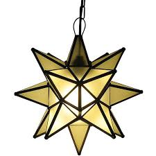 frosted glass star