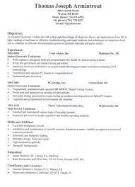 Sample Vet Tech Resume New Veterinary Technician Resume Samples