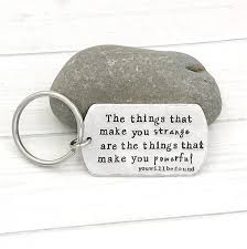 Dear Evan Hansen Quotes Enchanting Things That Make You Powerful Dear Evan Hansen Keychain Etsy