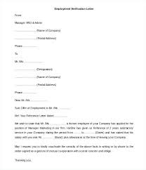 Employee Salary Verification Form Template Income Letter 5 Free Word ...