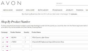 Avon Bra Size Chart How To Backorder Avon Beauty Makeup And More