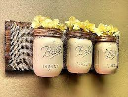Diy Decorative Mason Jars DIY Mason Jar Wall Decor Pallet Furniture DIY Crafts 57