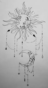 Pin by Ashlee Godin on Tattoos | Moon tattoo designs, Floral back ...