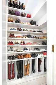 Coat And Boot Rack Closet Closet Shoe Organizer Ideas Under Stairs Storage From 28