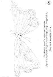 Caterpillar Printable Coloring Pages The Very Coloring Book With